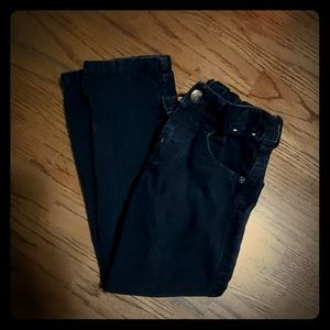 Black gymboree corduroy pants